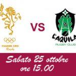 Trofeo Eccellenza 2^ giornata: la formazione delle Fiamme per il match con L'Aquila